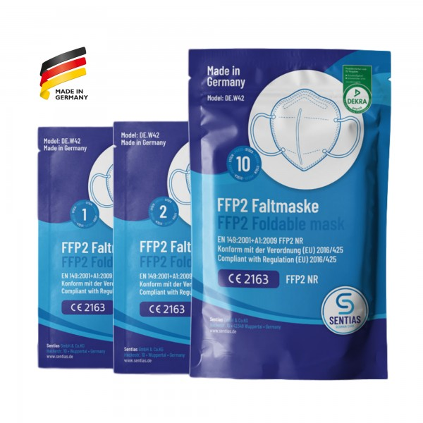 SENTIAS FFP2-Maske DEKRA CE Made in Germany