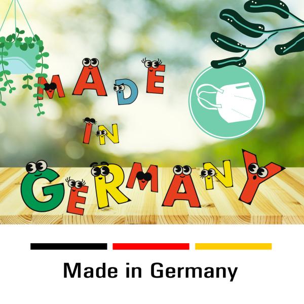 "SENTIAS Kindermaske ""Made in Germany"" BfArM zugelassen"