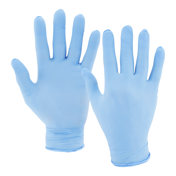 Ulith Nitril-Einweghandschuhe Typ 30 puderfrei 100 Stück blau
