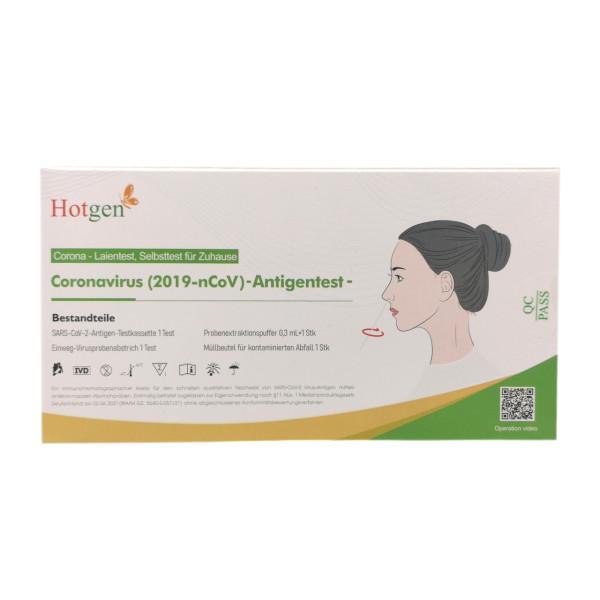 Hotgen Corona/Covid-19 Antigen Laien-Schnelltest - 1 Stück