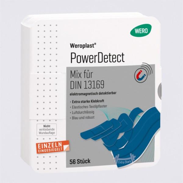 Weroplast PowerDetect Pflasterset aus Textil detektierbar DIN 13169 - 56 teilig
