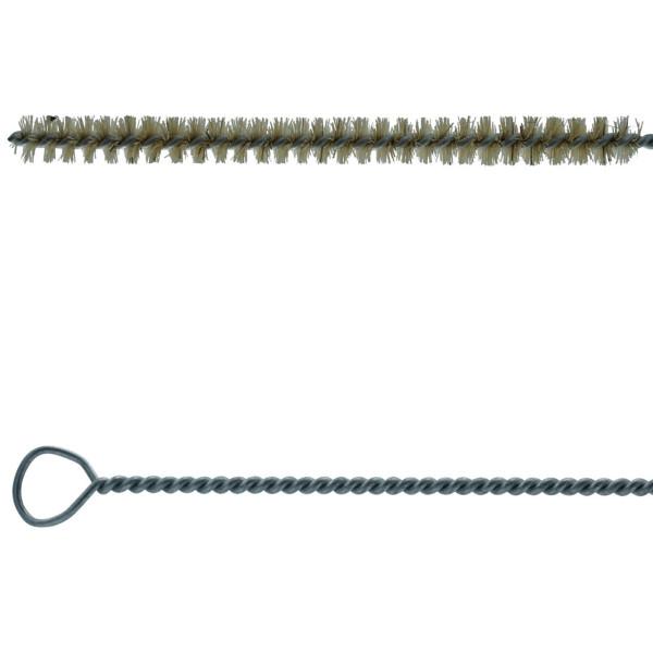 Düsenbürste mit Borste/Ziegenhaar versch. Durchmesser - 400 mm lang