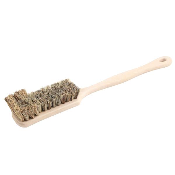 Stielbürste mit Bart geschweift