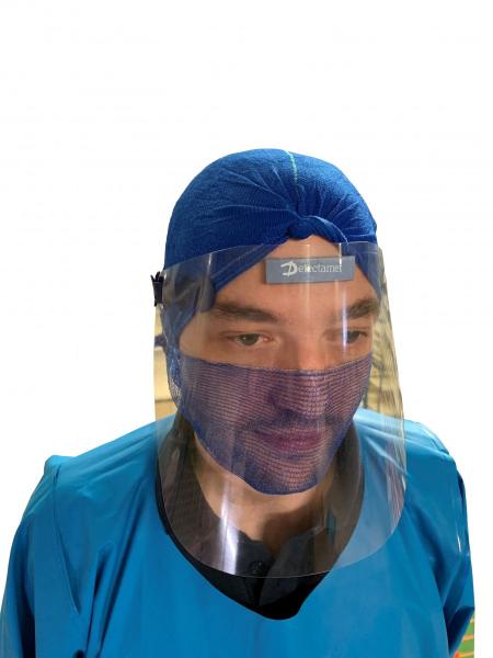 """Visier Gesichtsschutz """"FaceShield"""" detektierbar 10er Pack"""