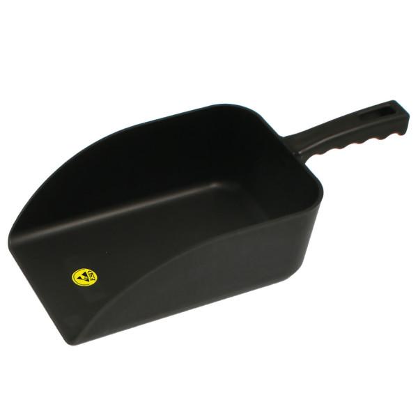ESD-Handschaufel in schwarz 160 x 230 x 360 mm