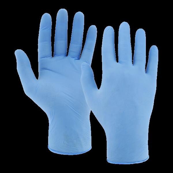Ulith Nitril-Einweghandschuhe Typ 37 puderfrei 100 Stück lavendel-blau