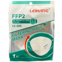 LEIKANG FFP2 NR Faltmaske 1 Stück CE2163 EN149:2001+A1:2009