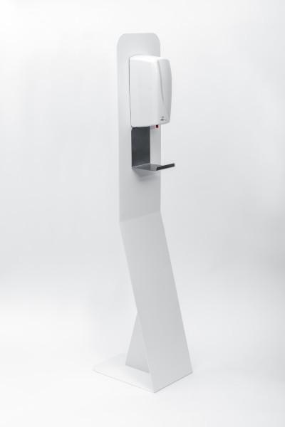 Stand-Desinfektionsmittelspender No-Touch (schräge Ausführung)