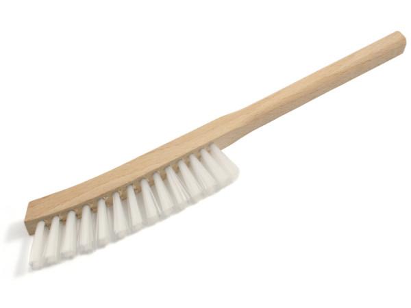 Stielbürste schmal gebogen mit Nylon