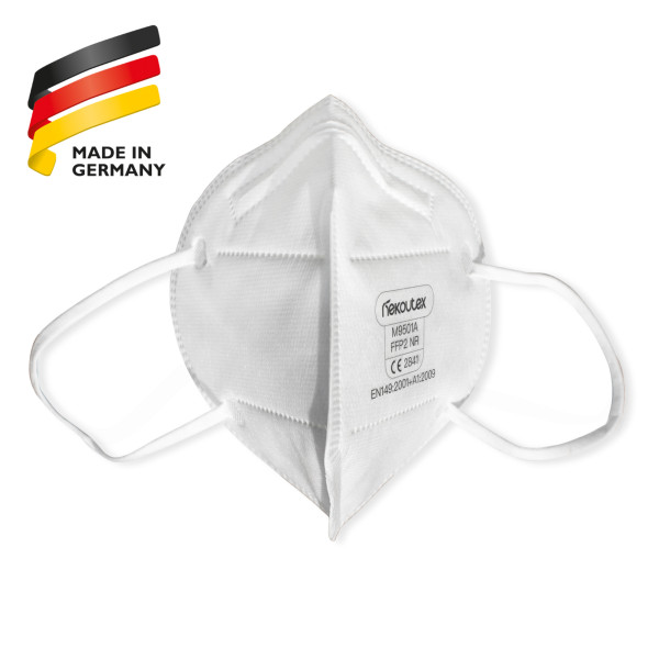 "Nekoutex FFP2-Maske ""Made in Germany"" EN149:2001+A1:2009 FFP2 NR - CE 2841"